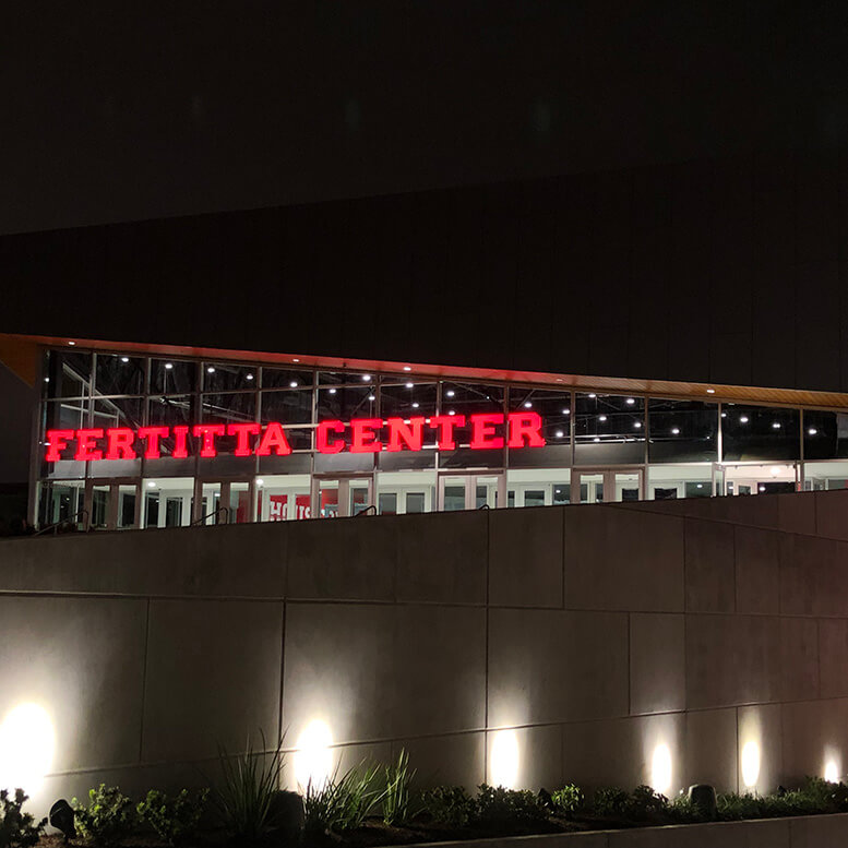 University of Houston Fertitta Center'